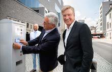 Ulm: Handyparken gestartet.
