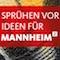 Stadt Mannheim wirbt für ihren zweiten Beteiligungshaushalt.