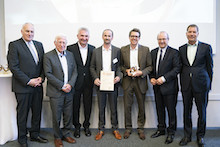 Deutscher Solarpreis 2019: In der Kategorie Städte/Gemeinden, Landkreise, Stadtwerke wurde Mainova ausgezeichnet.
