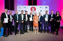 Die Preisträger des Stadtwerke Award 2019.