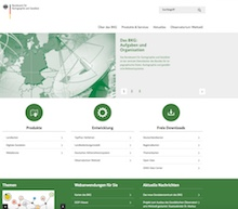 BKG bündelt Services in einem Portal.