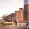 Im alten Kesselhaus des Pfaff-Werks ist das Reallabor-Zentrum geplant, am ehemaligen Verwaltungsgebäude soll eine innovative Solarnutzung umgesetzt werden.