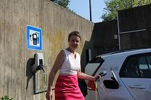 Setzt auf Bioenergie und E-Mobilität: Landrätin Kirsten Fründt, Landkreis Marburg-Biedenkopf.