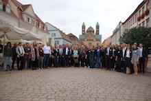 Über 120 Klimaschutzbeauftragte und Klimaschutz-Manager aus Baden-Württemberg, Rheinland-Pfalz und dem Saarland trafen sich in Speyer.