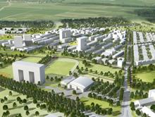 So soll das neue Wohnquartier FRANKLIN im Mannheimer Norden einmal aussehen.