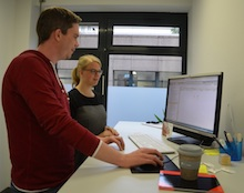 Projektarbeit in der Bundeszentrale für politische Bildung (bpb) mit der Anwendung E-Akte Bund.