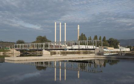 Rund 80 Millionen Euro hat Energie Steiermark in das Murkraftwerk Graz investiert.