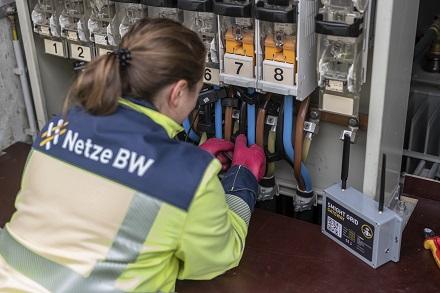 """Die Ortsnetzstation in Malmsheim/Renningen ist eine von 550, die Netze BW mit dem Stromsensor """"SMIGHT Grid"""" ausstattet."""