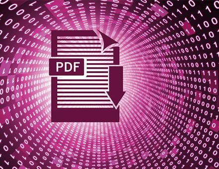 Mithilfe eines PDF Cloud Services (PCS) steht die aktuelle Dokumentenvorlage jedem Mitarbeiter mit entsprechender Berechtigung auf Knopfdruck zur Verfügung.