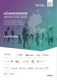 Initiative D21/fortiss: eGovernment MONITOR 2019 veröffentlicht.