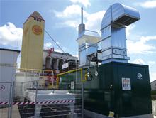 Das neue H2-BHKW dient der Rückverstromung von Wasserstoff, der per Power to Gas aus Windkraft gewonnen wird.