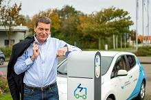 Colin Wulff ist neuer Vertriebsleiter der Stadtwerke Nordfriesland.