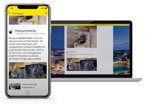 Chemnitz hat eine Mitarbeiter-App gestartet.
