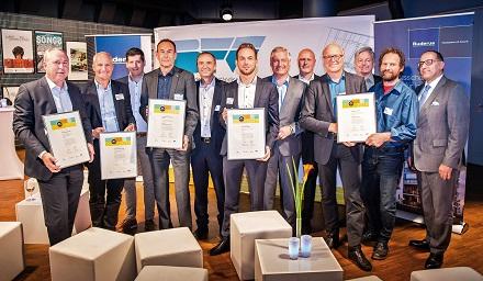 Das sind die glücklichen Gewinner des diesjährigen Contracting-Preises BW 2019.