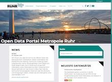 Die Beta-Version für ein interkommunales Open-Data-Portal der Metropole Ruhr ist online.