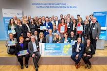Die mit 25.000 Euro dotierten Auszeichnungen zur klimaaktiven Kommune gingen an insgesamt zehn Städte, Gemeinden und Landkreise.