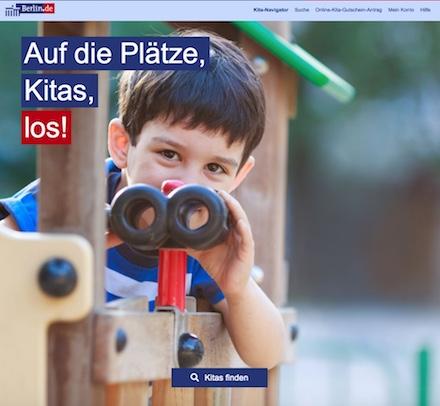 Berlin startet neues Online-Angebot: den Kita-Navigator.