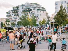 Im neuen Wiener Stadtteil Seestadt Aspern sollen künftig rund 25.000 Menschen leben.