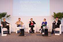 BODDy 2019: Podiumsdiskussion zur Bedeutung von Datenqualität für algorithmische Systeme.
