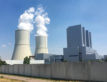 Stein des Anstoßes zum Kohleausstieg: Das mit Braunkohle betriebene Kraftwerk Lippendorf.