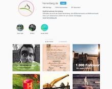 Herrenberg präsentiert sich auf Instagram.