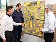 GVS-Team-Besprechung: Arbeitspakete werden klar definiert.
