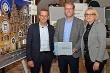 Für den OSNA HACK werden die Stadtwerke Osnabrück als Digitaler Ort Niedersachsen ausgezeichnet.