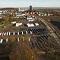 Baustelle der größten Solarthermieanlage Deutschlands in Ludwigsburg/Kornwestheim. In mehreren deutschen Fernwärmenetzen entstehen derzeit große Kollektorfelder.