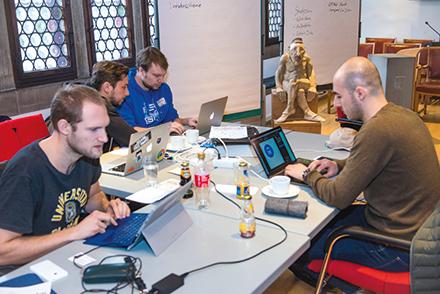 Hackathon im Ratssaal: Konstanz setzt auf Beteiligung der Community.