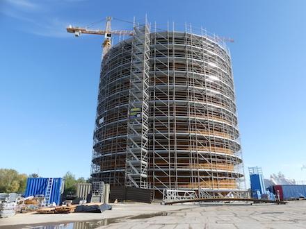Neubrandenburger Stadtwerke errichten eine Power-to-Heat-Anlage. Der bereits im Bau befindliche Kurzzeitwärmespeicher soll im kommenden Jahr in Betrieb gehen.