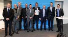 Thüringer Landesdatennetz ist nach dem BSI-Standard 200-2 zertifiziert.