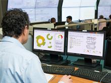 Mit einem Netzwerk-Management-System kann der Datenverkehr gezielt priorisiert werden.