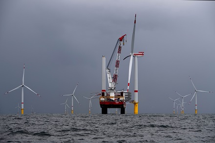 Die Fertigstellung des Trianel Windparks Borkum II wird sich bis 2020 verzögern.