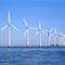 Offshore-Windpark: Gute Windbedingungen sorgen für Rekordjahr bei der Stromerzeugung aus Windkraft.