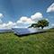 Der Aufwärtstrend für Solarenergie in Hessen setzte sich auch 2019 fort.