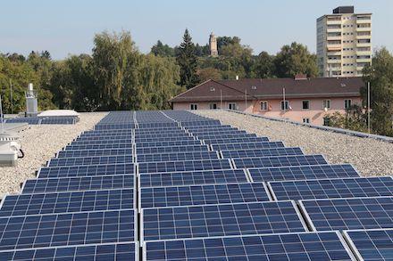 Die Stadtwerke Konstanz investieren eine Rekordsumme in alternative Energien, so rund 500.000 Euro in Photovoltaikanlagen.