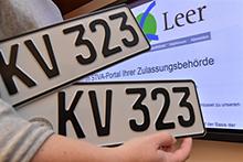 Wer sein Fahrzeug im Kreis Leer zulassen will, kann sich den Weg zum Straßenverkehrsamt sparen.