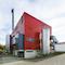 Außenansicht des Biomasse-Heizkraftwerks in Kaufbeuren.