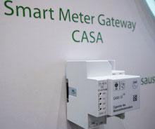 EMH metering präsentiert auf der E-World 2020 das vom BSI zertifizierte Smart Meter Gateway CASA.