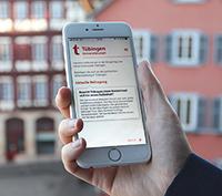 Die BürgerApp aktiviert Tübingen.