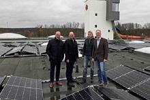 Stadtwerke Osnabrück wollen mehr Sonnenstrom vom Nettebad-Dach.