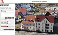 Bauvorhaben können im Soester 3D-Modell in die Stadtansicht eingefügt werden.