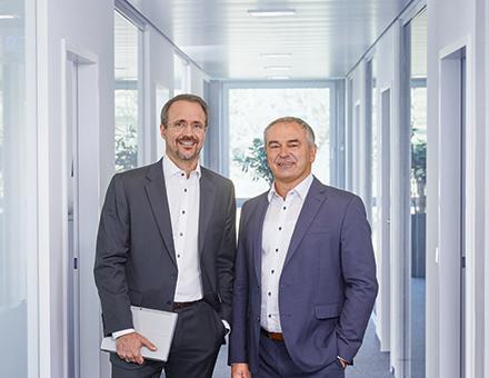 Daniel Riss und Holger Schmelzeisen