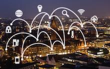 Vernetzte Stadt: Laut einer enercity-Studie erhofeen sich die Bürger von der Smart City einen Beitrag zum Klimaschutz.