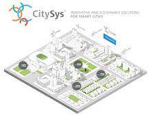 Die Grafik zeigt mögliche Strukturen von Light-as-a-Service-Modulen innerhalb von intelligenten Städten.