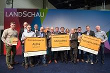Die Gewinner und lobenden Erwähnungen des Wettbewerbs Bioenergie-Kommunen 2019.
