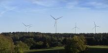 Wurde in kürzester Zeit mit Bürgergeldern finanziert: Windpark Münsterwald.