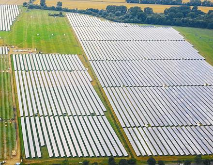 Solarpark Barth V: Bewährte Technologie, neues Finanzierungskonzept.