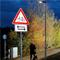 Intelligente Radwegbeleuchtung in Wiesloch.