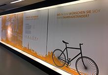 Auf der Ausstellung können Bürger auch ihre Anregungen dazu äußern, wie sie sich Ulm als Smart City vorstellen.